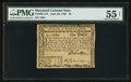 Colonial Notes:Maryland, Maryland June 28, 1780 $1 PMG About Uncirculated 55 Net.. ...
