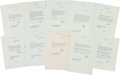 Autographs:U.S. Presidents, Dwight D. Eisenhower: Group of Ten Letters Signed.... (Total: 10Items)