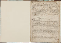 [King Henry VIII of England]. Period Fair Copy of the Oath of Succession and Other Documents, circa