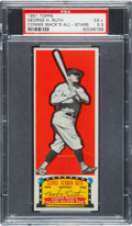 Baseball Cards:Singles (1950-1959), 1951 Topps Connie Mack All-Stars Babe Ruth PSA EX+ 5.5....