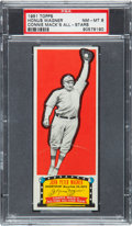 Baseball Cards:Singles (1950-1959), 1951 Topps Connie Mack's All Stars Honus Wagner PSA NM-MT 8 - TheFinest Example Known! ...