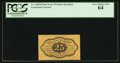 Fractional Currency:First Issue, Fr. 1282SP 25¢ First Issue Narrow Margin Back PCGS Very Choice New 64.. ...