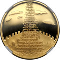 "Israel, Israel: Republic gold ""Tower of Babel"" Proof 10 New Sheqalim 2002 PR70 Ultra Cameo NGC,..."