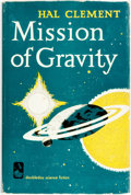Books:Science Fiction & Fantasy, Hal Clement. Mission of Gravity. New York: Doubleday &Company, 1954. First Edition....