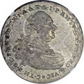 German States:Bavaria, German States: Bavaria. Karl Theodor 1/2 Taler 1790 Vicariat IssueMS63 NGC,...