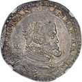 Italy:Naples & Sicily, Italy: Naples. Philip II of Spain 1/2 Ducato ND (1554-98) MS63NGC,...
