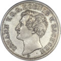 German States:Saxony, German States: Saxony. Johann Proof Convention Taler 1854-F PR66 Cameo PCGS,...
