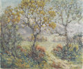 Texas:Early Texas Art - Impressionists, JESSIE PALMER (1882-1956). Untitled Fall Landscape. Oil on canvas.25in. x 30in.. Signed lower left. An early fall landsca...