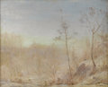 Texas:Early Texas Art - Impressionists, JULIAN ONDERDONK (1882-1922). Central Park, 1901. Oil oncanvas. 16in. x 20in.. Signed lower right. In 1901, Julian On...