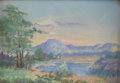 Texas:Early Texas Art - Regionalists, CARRIE GREATHOUSE (1870-1944). West Texas, 1925. Pastel(Frank Reaugh method). 5in. x 7in.. Signed lower right. Carrie...