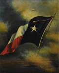 Texas:Early Texas Art - Impressionists, HARCO SCHUTTER (1864-1931). Untitled, 1918. Oil on canvas. 27in. x22in.. Signed lower right. Harco Schutter immigrated to...