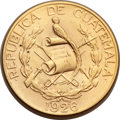 Guatemala: Republic gold 20 Quetzales 1926 Choice AU - Surface Hairlines