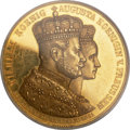 German States:Prussia, German States: Prussia. Wilhelm I gold Proof Coronation Medal of 12Ducats Weight 1861 PR61 Deep Cameo PCGS,...