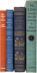 Books:Literature 1900-up, John Steinbeck. Four Works by Steinbeck.... (Total: 4 Items)