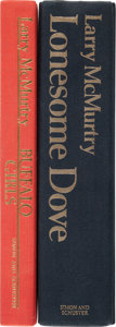 Books:Literature 1900-up, Larry McMurtry. Two First Edition Novels.... (Total: 2 Items)