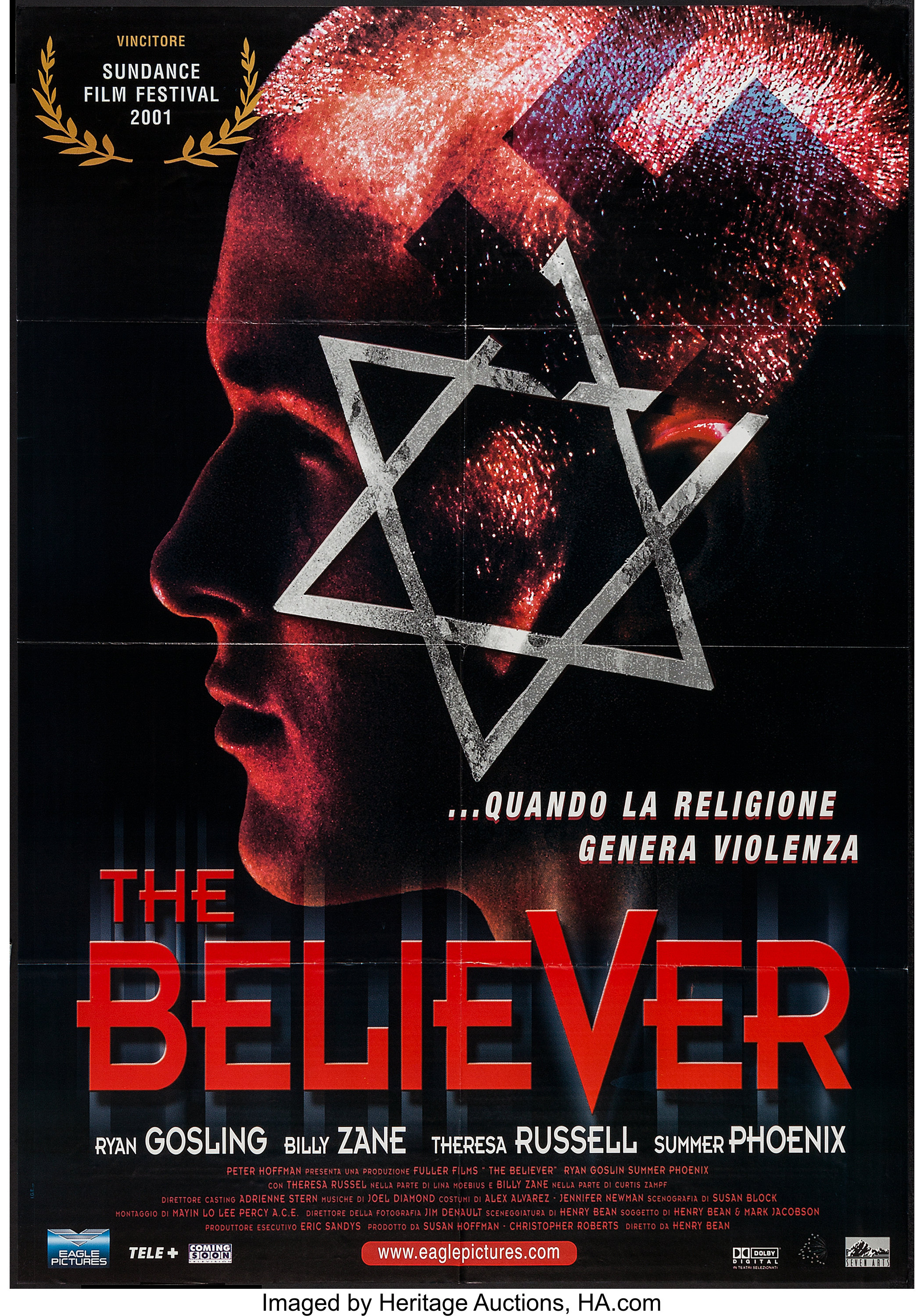 The Believer (Eagle Pictures, 2001). French Grande (38