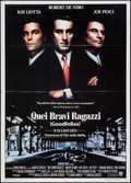 "Movie Posters:Crime, Goodfellas (Warner Brothers, 1990). Italian 2 - Foglio (39.25"" X 55""). Crime.. ..."