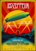 "Movie Posters:Rock and Roll, Led Zeppelin: Celebration Day (Nexo Digital, 2012). Italian 2 -Foglio (38.25"" X 54.5""). Rock and Roll.. ..."