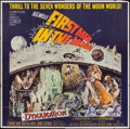 "Movie Posters:Science Fiction, First Men in the Moon (Columbia, 1964). Six Sheet (78"" X 79"").Science Fiction.. ..."