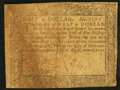 Colonial Notes:Maryland, Maryland August 14, 1776 $1/2 Very Good-Fine.. ...