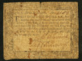 Colonial Notes:Maryland, Maryland August 14, 1776 $1 Very Good-Fine.. ...