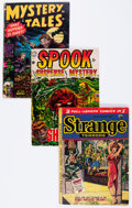 Golden Age (1938-1955):Horror, Comic Books - Assorted Golden Age Horror Comics Group (VariousPublishers, 1950s) Condition: Average FR....