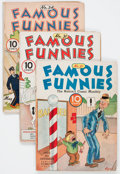 Golden Age (1938-1955):Miscellaneous, Famous Funnies Group (Eastern Color, 1935-47) Condition: Average VG-.... (Total: 20 Comic Books)
