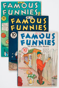 Golden Age (1938-1955):Miscellaneous, Famous Funnies Group (Eastern Color, 1935-52) Condition: Average VG/FN.... (Total: 14 Comic Books)