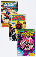 Modern Age (1980-Present):Superhero, Daredevil Box Lot (Marvel, 1974-94) Condition: Average VF....(Total: 144 Comic Books)