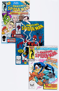 The Amazing Spider-Man Box Lot (Marvel, 1986-92) Condition: Average NM-.... (Total: 2 Box Lots)