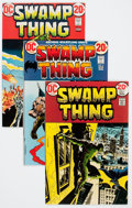 Bronze Age (1970-1979):Horror, Swamp Thing Group (DC, 1973-74).... (Total: 7 Comic Books)