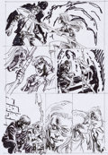 Original Comic Art:Miscellaneous, Jerry Ordway Justice Society of America #24 Page 13Preliminary Sketch Original Art (DC, 2009)....