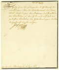 Autographs:Non-American, Holy Roman Emperor Joseph II Letter Signed...