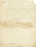 Autographs:Non-American, King Christian IX of Denmark Autograph Letter Signed...