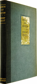 Books:Signed Editions, Robert Frost Signed Association Copy: North of Boston....