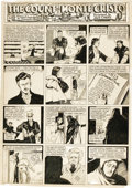 "Original Comic Art:Panel Pages, Lou Fine - Jumbo Comics ""Count of Monte Cristo"" Page Original Art(Fiction House, circa 1940). . ..."