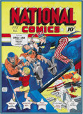 Original Comic Art:Covers, Murphy Anderson - National Comics #1 Cover Recreation Original Art(undated)....