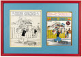 Original Comic Art:Covers, Joe Musial - King Comics #18 Cover Original Art (David McKayPublications, 1938)....