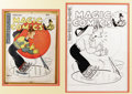 Original Comic Art:Covers, Joe Musial (attributed) - Magic Comics #78 Dagwood Cover OriginalArt (David McKay, 1946)....