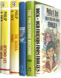 Books:Fiction, Philip K. Dick: Lot of Five Books.. ... (Total: 5 Items)