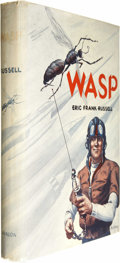 Books:Fiction, Eric Frank Russell: Wasp. (New York: Avalon Books,1957), first edition, 223 pages, gray cloth boards, 12mo, dus...