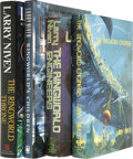 Books:Signed Editions, Larry Niven: Four Signed Ringworld Books. Includes the following: . The Ringworld Throne. (New York: Del Rey, 1996),... (Total: 4 Item)