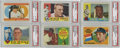 Baseball Cards:Sets, 1960 Topps Baseball Complete Set (572). In 1960, Topps opted for a horizontal format and again returned to the use of lifeti...