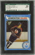Hockey Cards:Singles (1970-Now), 1979-80 Topps Wayne Gretzky #18 SGC 88 NM/MT 8. Near flawless rookie example from the Great One's debut in the 1979-80 Topp...