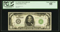 Small Size:Federal Reserve Notes, Fr. 2210-H $1,000 Light Green Seal 1928 Federal Reserve Note. PCGS Choice About New 55.. ...