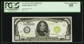 Small Size:Federal Reserve Notes, Fr. 2211-G $1,000 1934 Light Green Seal Federal Reserve Note. PCGS Choice About New 55.. ...