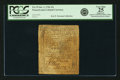 Pennsylvania October 1, 1756 15 Shillings Fr. PA-79. PCGS Very Fine 25 Apparent