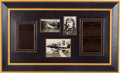Autographs:Celebrities, Charles Lindbergh Photograph Signed with a Clarence ChamberlinInscribed Photograph Signed....