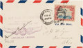 Autographs:Celebrities, Amelia Earhart Cover Signed....