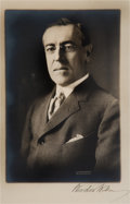 Autographs:U.S. Presidents, Woodrow Wilson Photograph Signed...